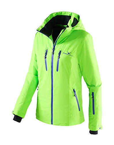 Black Crevice Damen Skijacke, Grün/Liberty, 36, BCR251006