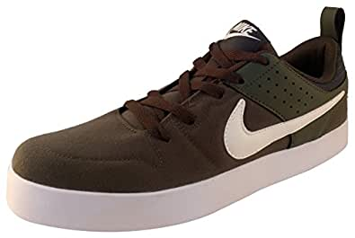 Nike Men's Brown Canvas Sneakers_10 UK