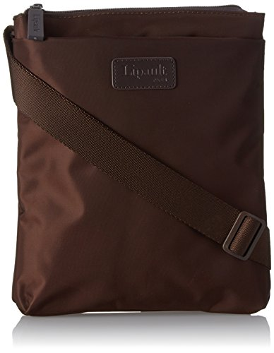 lipault-original-plume-large-vertical-cross-over-carry-on-luggage-chocolate-one-size