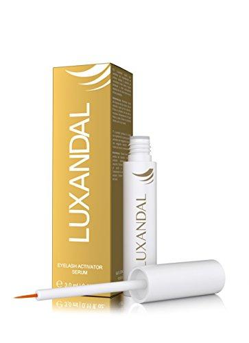 Ansicht vergrößern: LUXANDAL EYELASH ACTIVATING SERUM ? Wimpernserum für ein stärkeres Wimpernwachstum, mehr Dichte und eine sinnlichere, dunklere Farbe der Wimpern   mit Hyaluronsäure   3,0 ml   tierversuchsfrei I