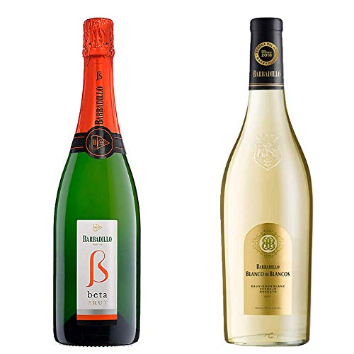 Beta Brut Y Blanco De Los Blancos - Barbadillo - 2 Botellas De 750 Ml
