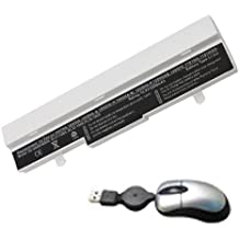 Amsahr eee1005ha -05 6 Cell 4400 mAh batería de repuesto para Asus EEE PC 1005HA: VU1X BK -, VU1X - BU, VU1X - PI