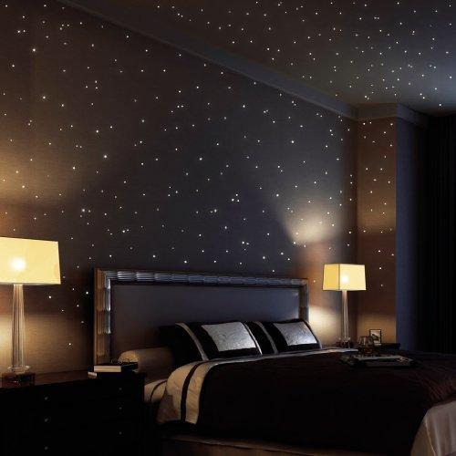 cielo-di-loft-wandtattoo-350-fluorescente-punti-luce-e-stelle-luminose-autoadesivo-150-200-punti-ade