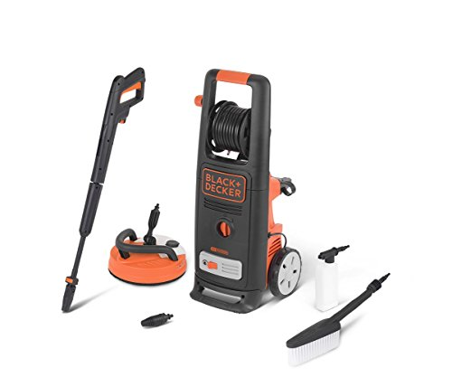 Black+Decker BXPW2000PE (2000 W, 140 bar, 440 l/h) con Patio Cleaner Deluxe y Cepillo Fijo