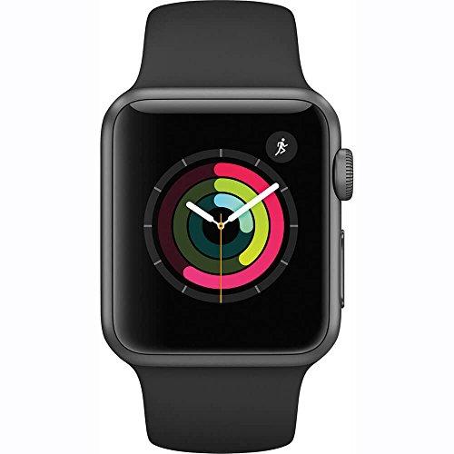 huge discount c3bc4 43343 Apple Watch Series 1 42mm Smart Watch (Space Gray Aluminum Case, Black  Sport Band) Buy Apple Watch Series 1 42mm Smart Watch (Space Gray Aluminum  ...