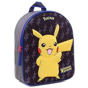 Pokèmon POK-8114 Pikachu – Mochila con Efecto 3D (32 cm)