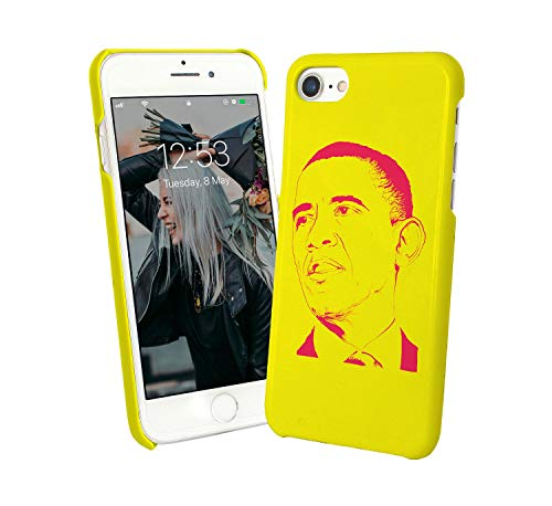 LumaCases Barack Obama Print USA_003164 Case for Compatible with iPhone 6 Handyhulle Hülle Schutz Cover Bumper Shell Protective Protection - Barack Obama Light