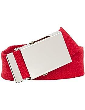 Shenky - Cinturón de tela - Ancho 3 cm - Largo 160 cm - XXXL