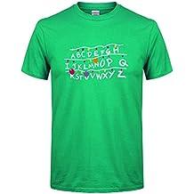 Camiseta de Manga Larga con Estampado JiaMeng Camiseta de algodón de Manga Corta con Estampado de