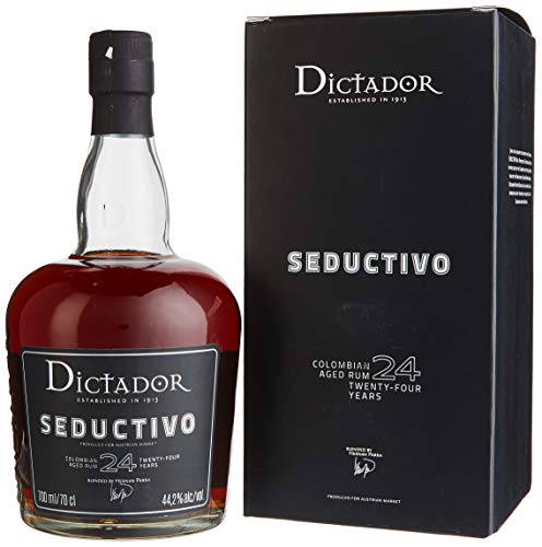 Dictador SEDUCTIVO 24 Years Old Colombian Aged Rum Limited Edition (1 x 0.7 l)