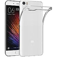 Funda Xiaomi Mi5, AICEK Xiaomi Mi5 Funda Transparente Gel Silicona Xiaomi Mi5 Premium Carcasa para Xiaomi Mi5
