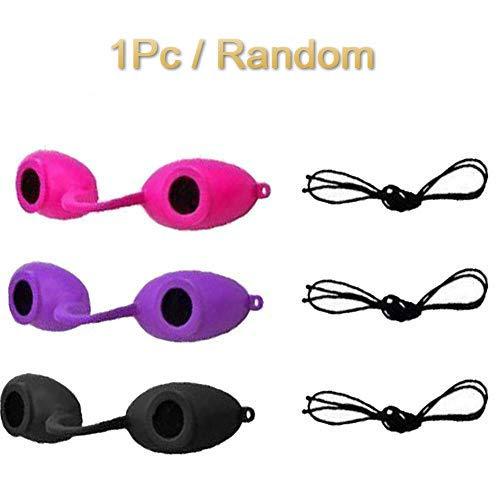 Ploufer Anti-UV Sonnenschutzbrille Silikon Elastic Eyeshields Sonnenschutzbrille für Strandreisen