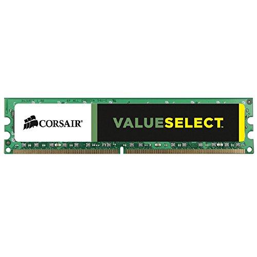 Corsair Value Select - Módulo de Memoria Principal de 8 GB (1 x 8 GB, DDR3, 1333 MHz, CL9) (CMV8GX3M1A1333C9)
