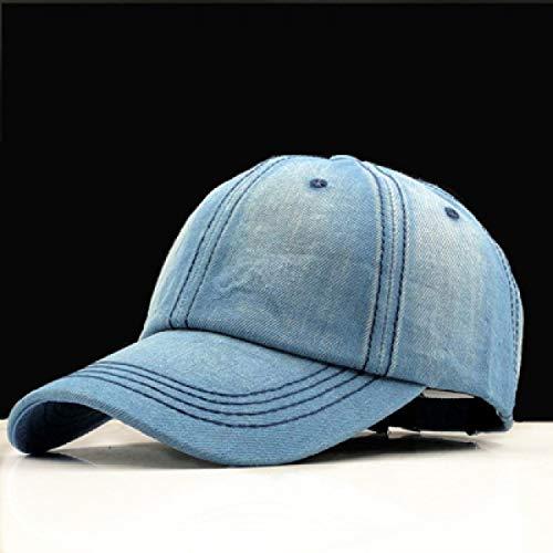 Blank Denim-denim (GSFD&DFGW Baseball Cap Damen Dad Caps Herren Homme Hüte Für Herren Bone Denim Jeans Blank Plain Dad Cap Hut, mittel)