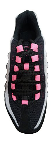 Nike Mädchen Air Max '95 Le (Gs) Turnschuhe black laser pink wolf grey 062