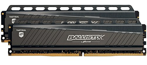 Ballistix Tactical 8GB, 4GBx2, DDR4, 3000 MT/s (PC4-24000) DIMM 288-Pin Memory