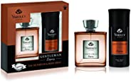 Yardley Gentleman Legacy perfumed gift set, Charismatic masculine fragrance with oriental woody notes, Eau De