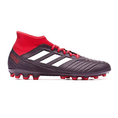 new style 09ec6 70928 adidas Predator 18.3 AG, Botas de fútbol para Hombre, (Negbás Ftwbla