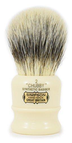 simpson-shaving-panciuta-2-pezzi-spazzola-in-fibra-sintetica-con-maniglia-in-resina-colore-crema