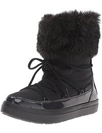 crocs Damen LodgePoint Lace Boot Women Schneestiefel