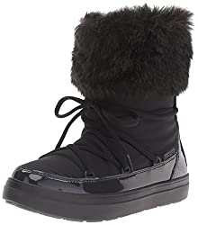Crocs LodgePoint Lace Women Boot in Black