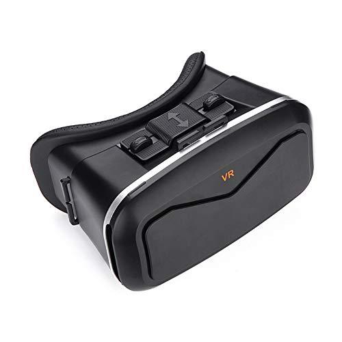 Lxopen 3D-Virtual-Reality-Brillen, VR-Helme, ABS-Kunstharzmaterialien, am Kopf montierte Geräte, können zum Ansehen von Filmen und Spielen verwendet Werden,Black
