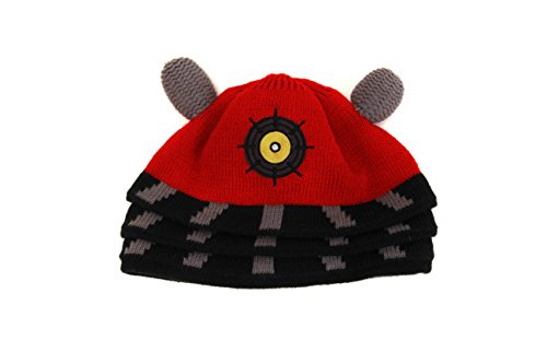 Doctor Who Dalek Costume Beanie Hat Adult One (Hat Kostüm Who Doctor)