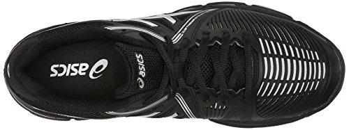 Asics Plata Para Voleibol Balística Netburner Zapatos Gel Mujer De De Negro q4vUSqR