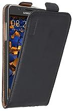 mumbi PREMIUM Etui à clapet pour Samsung Galaxy J5 (2016) - Étui de protection à rabat Flip Style noir