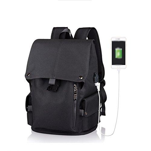 Laptop Rucksack 15 Zoll Externe USB Gebühr Computer Rucksäcke Diebstahl Wasserdichte Taschen Für Männer Frauen Schule Große Kapazität