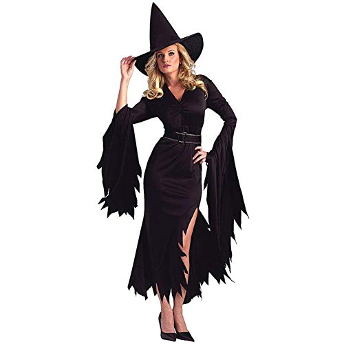 DOBESTES Halloween-Party-Kostüm Sexy Uniform Versuchung Schwarzer Teufel Kostüm Rollenspiele, Large (Country Girl Kostüm Frauen)