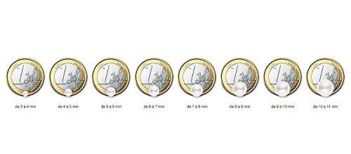 Pearls & Colors–Halskette mit Anhänger–Weißgold 9kt–Süßwasserperle–42cm–am-9cc 1073r9b-pk - 6
