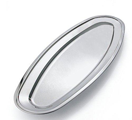 Kosma Bandeja de acero inoxidable | Bandeja de servir de plato de...