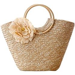 f945c4fba YOUJIA Bolso De Mano Totes Shopper Viajar Causual Bolso De Bandolera Bolsa  De Playa Para Mujeres