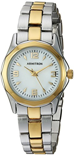 Armitron Women's 75/3861MPTT Two-Tone Bracelet Watch