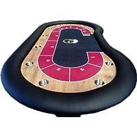 Newpokertable Mesa de poker 246x124 cm de alta calidad table of poker
