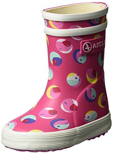 Aigle Unisex Baby Flac Glittery Stiefel Mehrfarbig (Baby Flac Glittery) 19 EU
