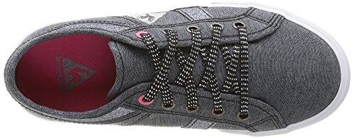 Le Coq Sportif Ferdinand Chambray Sparkles Ps, Unisex-Kinder High-Top Sneaker Schwarz (Black)