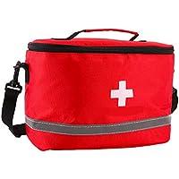 Yuan Ou Kit Primeros Auxilios Botiquines De Primeros Auxilios Kits Militares De Viaje Bolsa De Almacenamiento Al Aire Libre 27 * 19 * 19cm Rojo