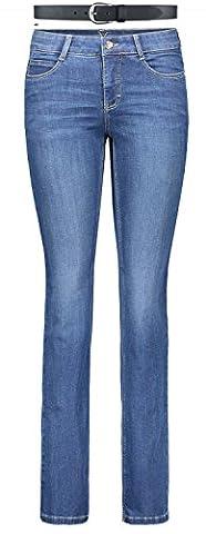 MAC Dream Damen Jeans Hose 0355l540190 & draussen-aktiv.com Ledergürtel..,