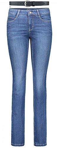 MAC Dream Damen Jeans Hose 0355l540190 & draussen-aktiv.com Ledergürtel.., Farbe:D569;Größe:W40/L34