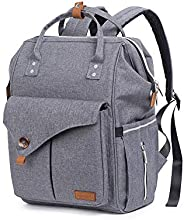 Alameda XXL Diaper Bag with Stroller Hooks and Nappy Changing Mat Large Capacity Nappy Baby Bag, Travel Beach