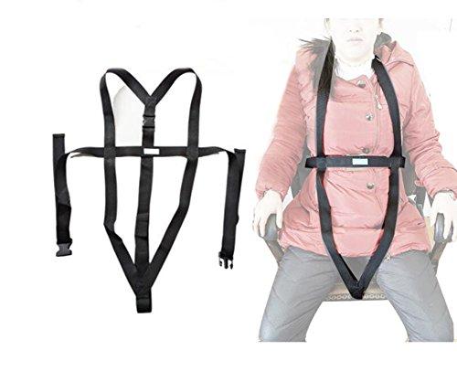 Torso Support Selbstlösender Rollstuhl-Positionierungsgurt Und Verstellbarer Schultergurt - Verhindern Das Vorwärtsgleiten Des Patienten -