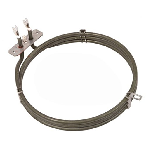 Spares2go 3Gire Elemento Calentador para Candy Horno Cocina del ventilador (2500W, 230V)