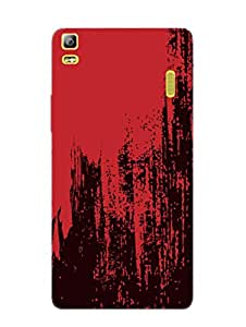 Lenovo K3 Note Back Cover - Grunge Colours - Pattern - Designer Printed Hard Shell Case