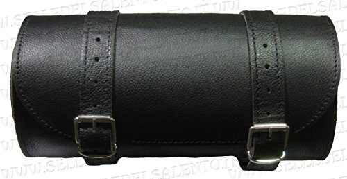 Barilotto borsa moto in pelle barilotto 20x10 bikebag Satteltasche compatibile con harley devindson moto guzzi triumph