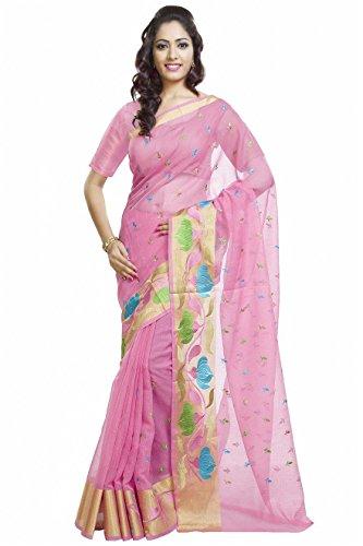 Rajnandini Pure Cotton Saree (Joplsrs1036H_Pink)