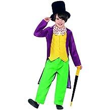 Disfraz oficial de Willy Wonka, de Smiffys, personaje de Roald Dahl