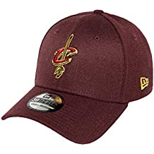 Gorra New Era – 39Thirty Nba Cleveland Cavaliers Heather Team  granate amarillo f64427e4386