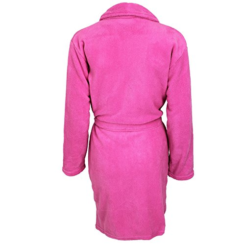 Womens Indigo Sky Soft Feel bagno vestaglia in pile Pink
